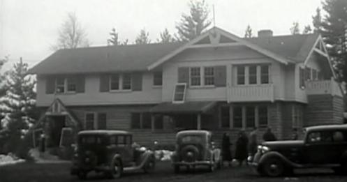Little bohemia lodge dans les années 30