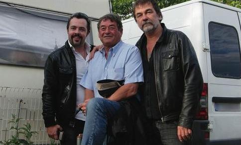 Edgar Marie, Edmond Vidal et Olivier Marchal à Decines (Grand-Lyon)