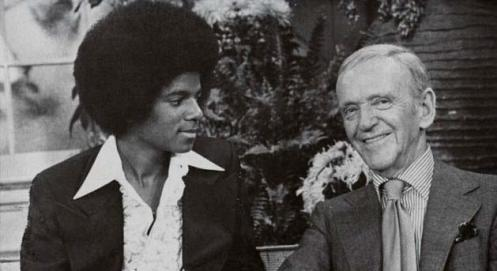Michael Jackson et Fred Astaire