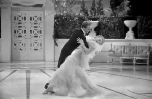 """Ginger Rogers et Fred Astaire """"cheek to cheek"""""""