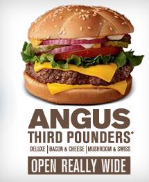 Angus Third Pounder, McDo