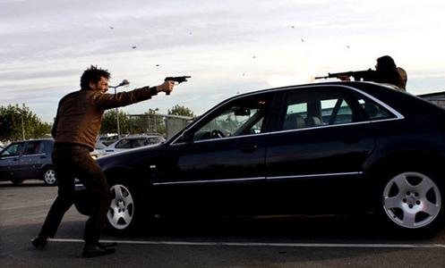 "Tomer Sisley dans le film ""Truands"""